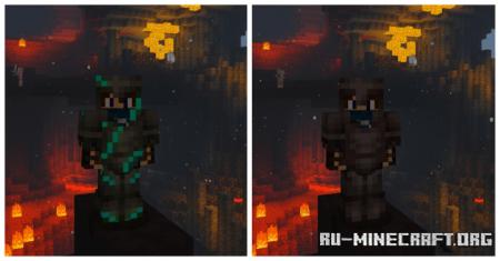 Скачать Cracked Netherite – Diamond Edition для Minecraft PE 1.16