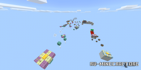 Скачать Droid Parkour (Easy Parkour) для Minecraft PE