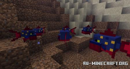 Скачать Blood in The Water для Minecraft 1.15.2