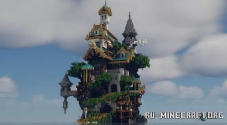 Скачать Fantasy Island by yuto729 для Minecraft