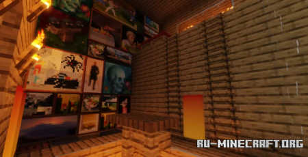 Скачать Redstone Mountain House by Aquarexz для Minecraft