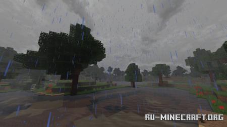 Скачать Hyra Shaders для Minecraft PE 1.16