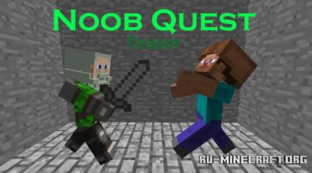 Скачать Noob Quest by LandonBoi55 для Minecraft