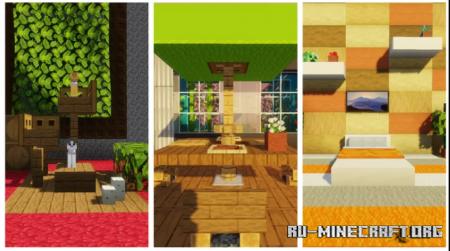 Скачать 25 Interior Decorating Ideas and Designs для Minecraft