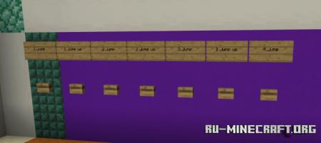 Скачать Lulu Parkour School для Minecraft PE
