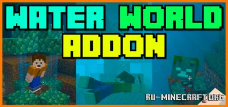 Скачать Water World (Survival Friendly Challenge) для Minecraft PE 1.16