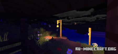Скачать Haptic Shaders для Minecraft PE 1.16