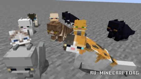 Скачать Fat Cat для Minecraft 1.15