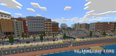 Скачать Hangshui City для Minecraft PE