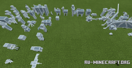 Скачать Mob Statues для Minecraft PE 1.16