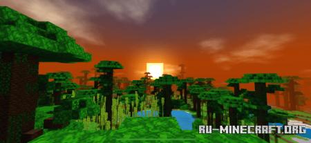 Скачать Impressive Shadow Shader для Minecraft PE 1.14