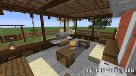 Скачать The Cedar Estate - Interior Contest для Minecraft