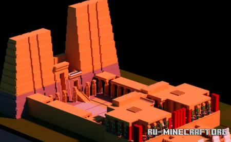 Скачать Egyptian City (Minix) для Minecraft