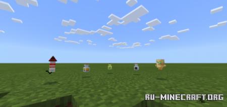 Скачать 3D Items для Minecraft PE 1.16