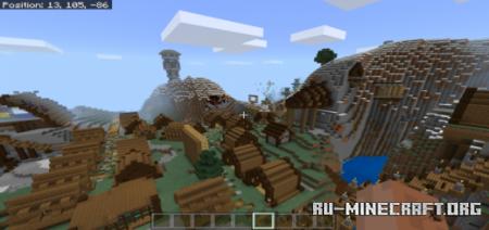Скачать Land of the Vikings для Minecraft PE