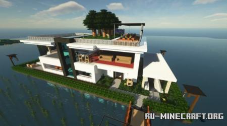 Скачать Modern House by rtng для Minecraft