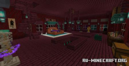 Скачать Mirror Mansion (Nether Update) для Minecraft