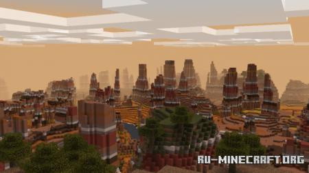 Скачать Landscapes для Minecraft PE 1.16