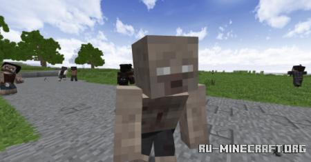 Скачать Tissou's Zombie [16x] для Minecraft 1.14