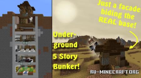 Скачать Apocalypse Bunker Build для Minecraft