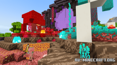 Скачать Nether Survival Spawn для Minecraft PE 1.16