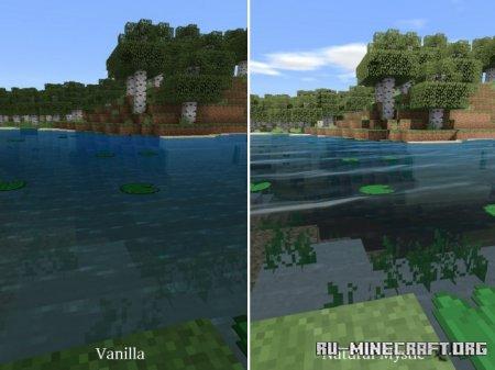 Скачать Natural Mystic Shaders для Minecraft PE 1.16