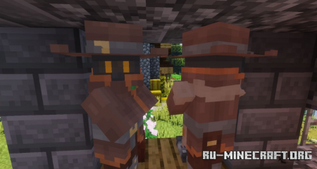 Скачать Wispy Villagers and Fantasy Creatures для Minecraft 1.15