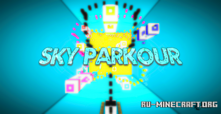 Скачать Sky Parkour by Pikaaaa для Minecraft