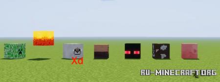 Скачать Block Mobs для Minecraft 1.14