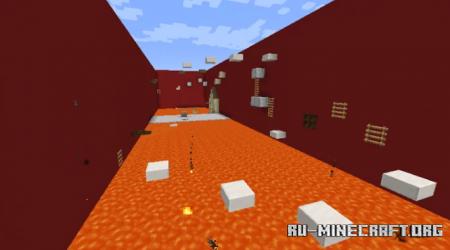 Скачать Parkour Challenge - Extremely Easy для Minecraft