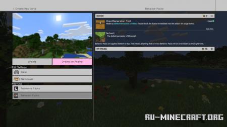 Скачать ChestGenerator для Minecraft PE 1.15