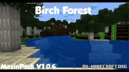 Скачать Mazin [8x] для Minecraft 1.15