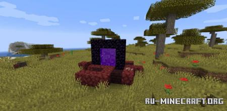 Скачать Nether Portal Spread для Minecraft 1.16.1