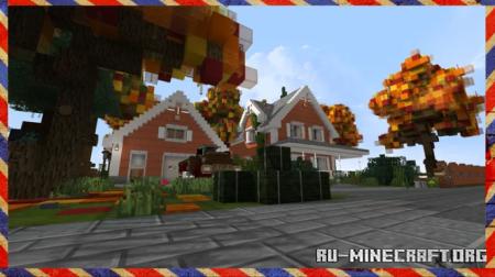 Скачать Interiors in New England для Minecraft
