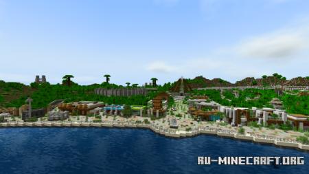 Скачать Abandoned Jurassic World (Fallen Kingdom) для Minecraft PE