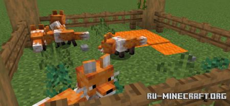Скачать Hatson's Foxes для Minecraft 1.15