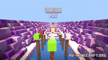 Скачать Unfair Pig для Minecraft PE