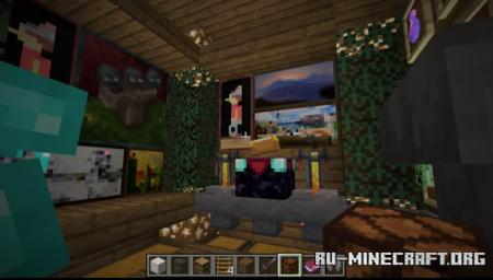Скачать Survival Nether Quartz Base для Minecraft
