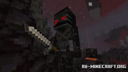 Скачать The Nether Variants для Minecraft PE 1.16