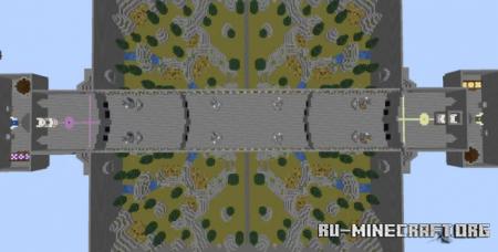 Скачать War of Champions: A Vanilla Minecraft MOBA для Minecraft