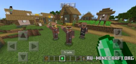 Скачать Free Handed Villagers для Minecraft PE 1.16