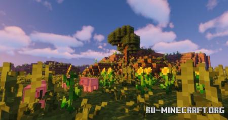 Скачать 8BitCraft 2 [8x] для Minecraft 1.16
