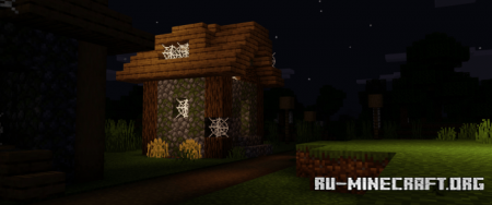 Скачать UltraClass – Vibrant and Darker Nights для Minecraft PE 1.16