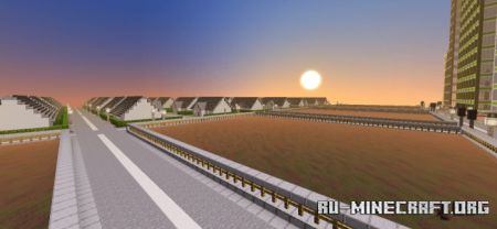 Скачать Bricksville City для Minecraft PE