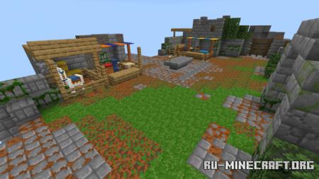 Скачать Dungeons Recreation – Blocks для Minecraft PE 1.16