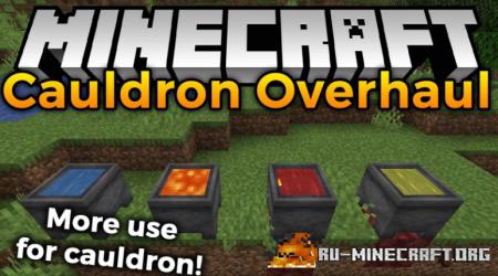 Скачать Cauldron Overhaul для Minecraft 1.16.1