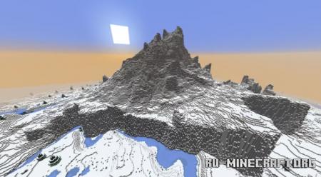 Скачать The Crowned Mountain by Enaross для Minecraft