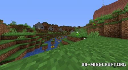 Скачать Border Run - Glowing Darkness для Minecraft