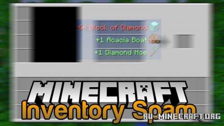 Скачать Inventory Spam для Minecraft 1.16.1