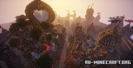 Скачать KitPvP Arena by Invisor для Minecraft